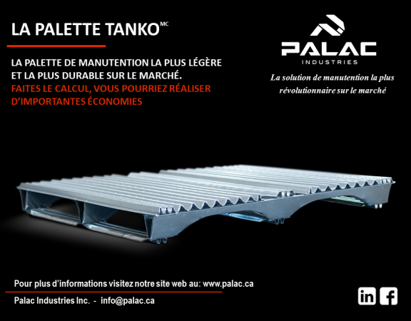 platte en acier galvanisé — galvanized steel pallet — wooden pallet — plastic pallet— skid